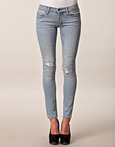 Narrow Hole Blue Jeans SEK 399, Cheap Monday - NELLY.COM