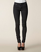 Jeans , Tight Crocking Black , Cheap Monday - NELLY.COM