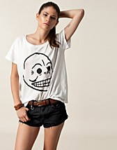 Tops , Lina Printed Tee Skull , Cheap Monday - NELLY.COM