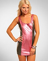 Pink Metallic Dress NOK 179, Rare Fashion - NELLY.COM