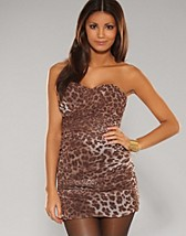 Leopard Bandeau Dress SEK 559, Rare Fashion - NELLY.COM