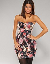 Floral Tube Dress NOK 539, Rare Fashion - NELLY.COM