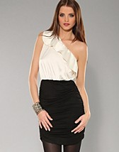 One Shoulder Frill Dress SEK 389, Rare Fashion - NELLY.COM
