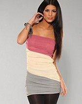 3 Colour Rouche Tube Dres EUR 39,90, Rare Fashion - NELLY.COM