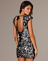 Sequin Tie Back Dress SEK 499, Rare Fashion - NELLY.COM