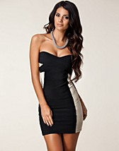 Party dresses , Contrast Bandage Dress , Rare London - NELLY.COM
