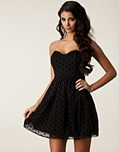 Festklänningar , Polka Dot Prom Dress , Rare London - NELLY.COM