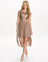 Party dresses , Cut Out Seq Dip Hem Dress , Rare London - NELLY.COM