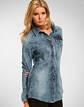 Boyd Denim Shirt SEK 499, Vila - NELLY.COM