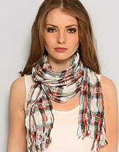 Nadja Check Scarf SEK 125, Atlas Design - NELLY.COM