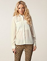 Blouses & shirts , Gail Pocket Shirt , Rut&Circle - NELLY.COM