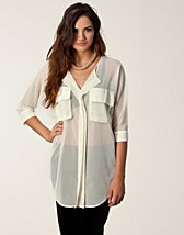 Blouses & shirts , Kama Net Shirt , Rut&Circle - NELLY.COM