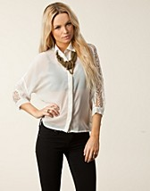 Blouses & shirts , Nigella Back Lace Blouse , Rut&Circle - NELLY.COM