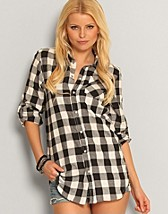 Checkie Boyfriend Shirt SEK 199, Serious Sally by Rut m.fl. - NELLY.COM