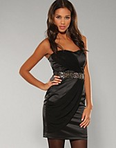 Satin Dress SEK 499, Elise Ryan - NELLY.COM