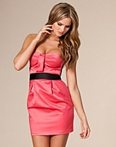 Satin Dress SEK 449, Elise Ryan - NELLY.COM
