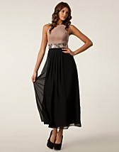 Festklnningar , Ponti Chiffon Maxi Dress , Elise Ryan - NELLY.COM