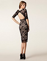 Party dresses , Backless Lace Dress , Elise Ryan - NELLY.COM