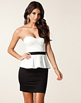 Juhlamekot , Bandeau Peplum Dress , Elise Ryan - NELLY.COM