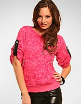 Leathery Sweater SEK 359, Only - NELLY.COM