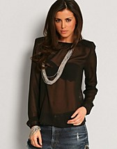 Cecile Chiffong Top SEK 99, Only - NELLY.COM