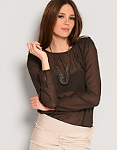 Cecile Chiffong Top SEK 79, Only - NELLY.COM