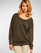 Stud Oversize Sweat SEK 299, Only - NELLY.COM