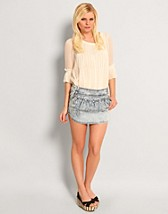 Coral Denim Skirt SEK 329, Only - NELLY.COM