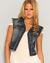 Barbara Cropped Waistcoat SEK 249, Only - NELLY.COM