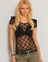 Lace Top SEK 129, Only - NELLY.COM