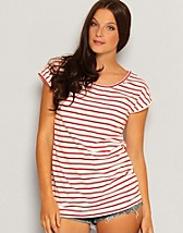 Kasandra SS Stripe Top SEK 39, Only - NELLY.COM