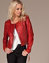 Jackor , Miranda Leather Jacket , Only - NELLY.COM