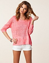 Puserot , Palli 3/4 Pullover Knit , Only - NELLY.COM