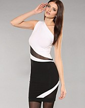 White Insert Mesh dress SEK 449, Quontum - NELLY.COM