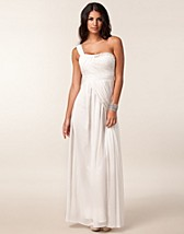 Festklänningar , One Shoulder Maxi Dress , Little Mistress - NELLY.COM