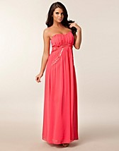Festklänningar , Bandeau Trim Maxi Dress , Little Mistress - NELLY.COM