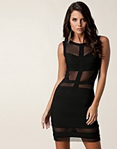 Party dresses , Cut Out Mesh Dress , Oneness - NELLY.COM