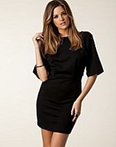Dresses , Nio Dress , Noir - NELLY.COM