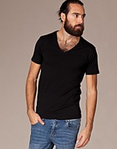 Drill Single Deep V Neck Noos