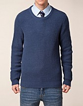 Tröjor , Salvage Crew Neck Knit , Selected Homme - NELLY.COM