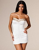 Trim Ruch Bustier Dress SEK 399, Three Little Words - NELLY.COM