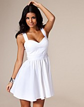 White Cut Out Prom Dress NOK 399, Three Little Words - NELLY.COM