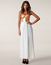 Festklänningar , Sequin Bandeau Maxi Dress , Three Little Words - NELLY.COM