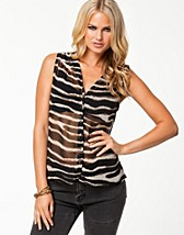 Paidat , Animalistic Stinna Top , Vero Moda - NELLY.COM