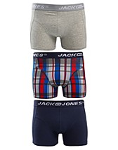 Kalsonger , Graham 3-Pack Trunks , Jack & Jones - NELLY.COM