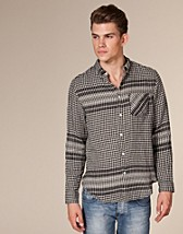 Skjortor , Straight Check 3 Shirt , Acne - NELLY.COM