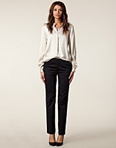 Byxor & shorts , Luisa Cotton Slacks , Filippa K - NELLY.COM