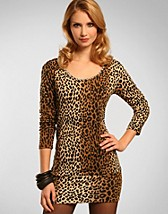Leopard Jewellery Dress SEK 299, Club L - NELLY.COM