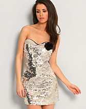 Glitter Dress SEK 89, Club L - NELLY.COM