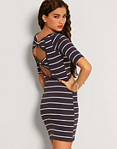 Sailor Stripe Dress SEK 249, Club L - NELLY.COM